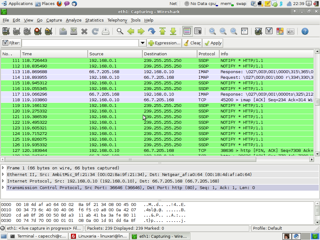 Wireshark for Network analysis | Linuxaria