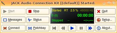 Schermata-JACK Audio Connection Kit [(default)] Started.
