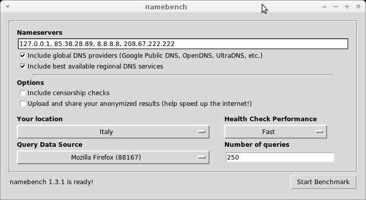 namebench linux