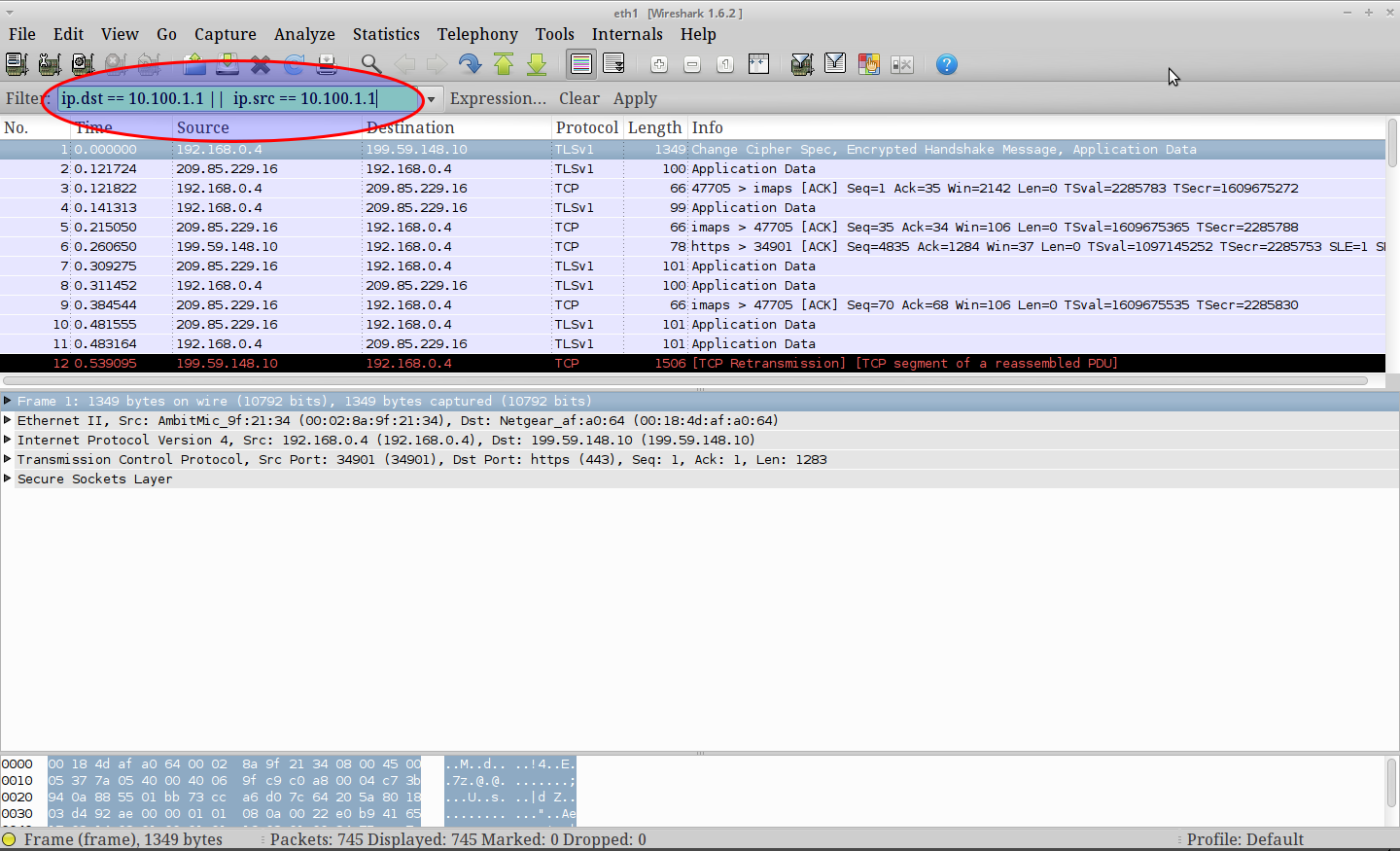 How to Use Filters with Wireshark | Linuxaria