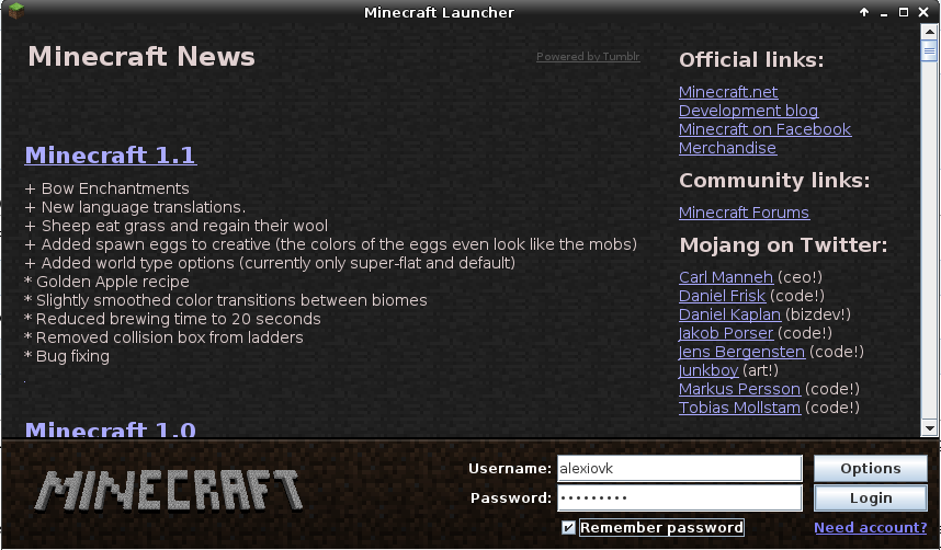 How to play Minecraft on Archlinux | Linuxaria