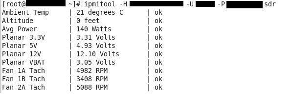 Monitoring via IPMI | Linuxaria