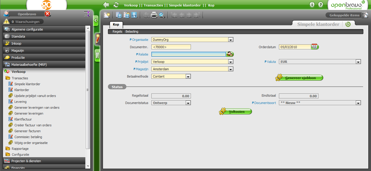 Open Source ERP software - Linuxaria