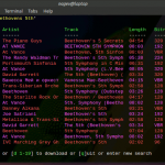 Linux Terminal: Poor Man's Spotify